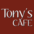 Tonys Cafe Menu
