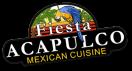 Fiesta Acapulco Menu