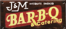 J&M Bar-B-Q Menu
