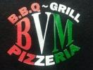 BVM B.B.Q. Grill Pizzeria Menu