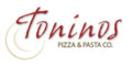 Toninos Pizza and Pasta Co Menu