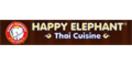 Happy Elephant Thai Cuisine Menu