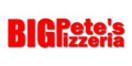 Big Pete's Pizza Menu