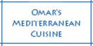 Omar's Mediterranean Cuisine Menu