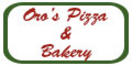 Oro's Pizza & Bakery Menu