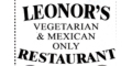 Leonor's Restaurant Menu