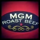 MGM Roast Beef Menu