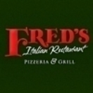 Fred's Italian Restaurant Menu