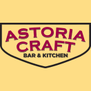 Astoria Craft Menu