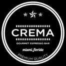 Crema Gourmet Espresso Bar Menu