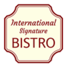International Signature Bistro Menu
