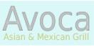 Avoca Asian & Mexican Grill Menu