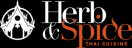 Herb and Spice Thai Menu