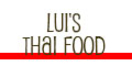 Lui's Thai Food Menu