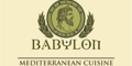 Babylon Cuisine Menu