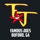 Famous Joes Menu
