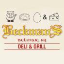 Beckman's Deli & Grill Menu