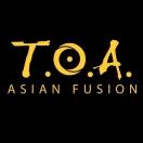 TOA Asian Fusion Menu