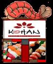 Kohan Japanese Restaurant Menu