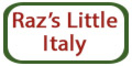 Raz's Little Italy Menu