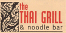 The Thai Grill & Noodle Bar Menu