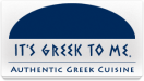 It's Greek To Me Menu