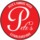 Pete's Famous Pizza Restaurant Menu