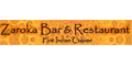 Zaroka Bar and Restaurant Menu
