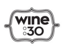 Wine 30 Menu