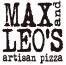 Max and Leo's Artisan Pizza Menu