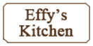 Effy's Kitchen Menu