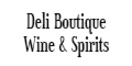 Deli Boutique Wine & Spirits Menu