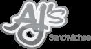 AJs Sandwiches Menu