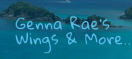 Genna Rae Wings & More Menu