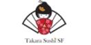 Takara Sushi SF Menu