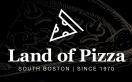 Land of Pizza Menu