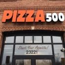 Pizza 500 Menu