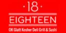 Eighteen Restaurant Menu