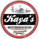 Kaya's Mediterranean Bistro Menu