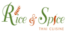 Rice and Spice Thai Cuisine Menu
