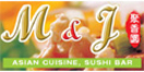M&J Asian Cuisine Menu