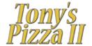 Tony's Pizza II Menu
