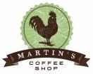 Martin's Coffee Shop Menu