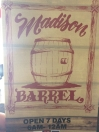 Madison Barrel Menu