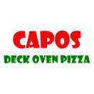 Capos Pizza Menu