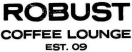 Robust Coffee Lounge Menu