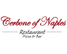 Cerbone of Naples Restaurant and Pizza Menu