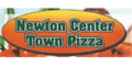 Newton Center Town Pizza Menu