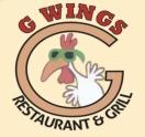 G Wings Menu