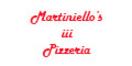 Martiniello's III Pizzeria Menu